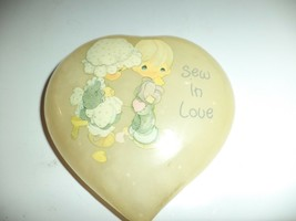 Enesco Precious Moments Alabaster Heart - $19.99