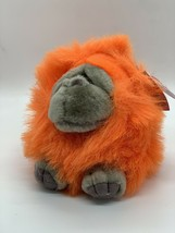 Puffkins Omar the Orangutan Ape Orange Bean Bag Plush 1998 Swibco w Tag ... - $7.92