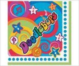Unique Doodlebops Large Napkins (16ct) - $4.95