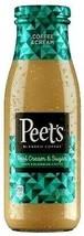 Peet's Coffee & Cream Iced Coffee 13.7 oz ( Pack of 12 ) - $59.39