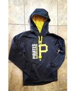 Men's Majestic Pittsburgh Pirates MLB Therma Base Hoodie Sweatshirt Size... - $39.99
