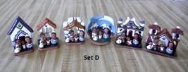 6 Mexican Small Nativity Scene Clay Nativity Christmas Decor - $35.15+