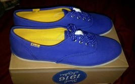 GENUINE KEDS OX BLUE CHAMPION SNEAKERS WALKING SHOES SUMMER FITNESS ! SI... - $39.99