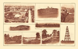 Buildings And Forts - BIEN  1895 - 23 x 36.42 - $36.95+