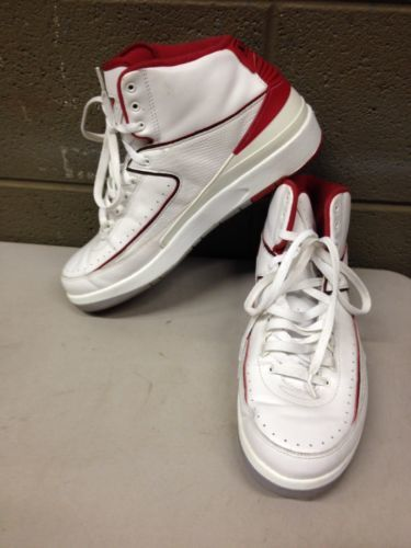 ec4d5785276 Air Jordan 2 Retro 385475 102 White Red Grey and similar items. 12