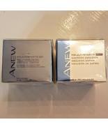 Avon Anew REJUVENATE NIGHT Emulsion Day Cream LOT Full Size 1.7 oz New O... - $37.62