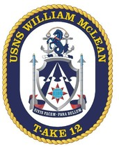 USNS William Mclean Sticker Military Armed Forces Navy Decal M248 - $1.45+