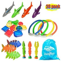 26pcs Diving Toys Underwater Children's Toys / Diving Pool Toy Rings, To... - $16.79