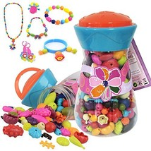 Alens Pop Beads Set Creative DIY Jewelry Making Kit for Necklace, Ring, ... - $26.62