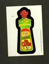 "WACKY PACKAGES 1985 Series ""MR. CLOWN"" #21 Sticker Card - $1.50"