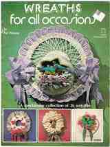 Vintage Wreaths for All Occasions Crafts Book - $7.99