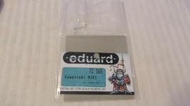 1/72 Scale Eduard Photoetched Set for Kawanishi N1K1 #72165, BNOS - $14.85