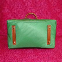 Dooney & Bourke Nylon Green Satchel Handbag NWT image 7