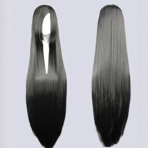 Heat Resistant Womens Long Straight w/ Bangs Cosplay Anime Wigs Fashion hair USA - $19.16