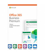 Microsoft Office 365 Business Premium / 12-month subscription, 1 person,... - $213.04