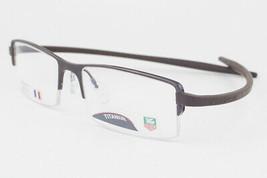 Tag Heuer 3721-002 Reflex Chocolate Ceramic Havana Titanium Eyeglasses 3... - $244.02