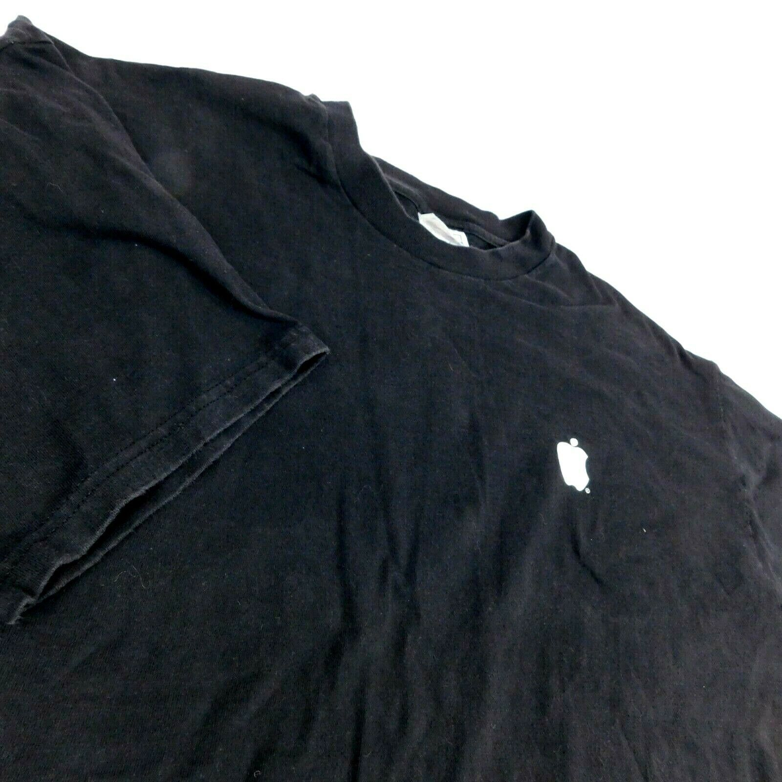 Primary image for VTG Apple Computer Think Different Black T Shirt  Hanes BeefyT Sz XXL