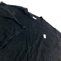 VTG Apple Computer Think Different Black T Shirt  Hanes BeefyT Sz XXL - $88.99