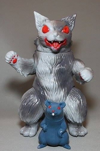 MaxToy Gray King Negora and Mouse
