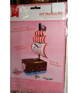 Build Your Own Valentines Day Card PIRATE SHIP BOY'S Mailbox DIY Paper C... - $3.71