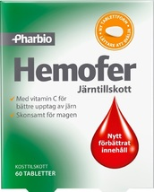 Pharbio Hemofer 60 Tablets   Prevent of IRON Deficiency + - $14.00
