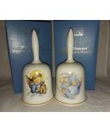 1985 and 1986 Authentic Art of Berta Hummel Bells W Germany Schmid Xmas ... - $19.99