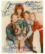 MARRIED WITH CHILDREN CAST SIGNED AUTOGRAPHED 8X10 RPT PHOTO CHRISTINA A... - $17.99