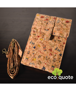 EcoQuote Small Sling Pouch Handmade Cork Material Eco Friendly Great for... - $38.00