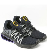Nike Shox Gravity Running Shoe AR1999-005 Black Mutli Purple Grey 10.5 E... - $94.04