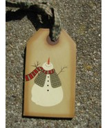 31617S - Snowman Gift Tag  - $1.95