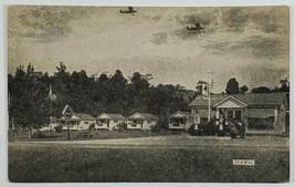 Swanton VT Sunset Camp Cabins Walter Champang Gasoline Coca Cola Postcar... - $24.95