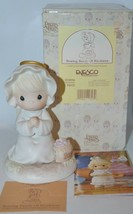Precious Moments Figurine 163856 with Box Sowing Seeds Of Kindness 1995 - $15.20
