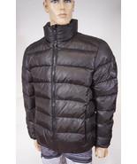 Jared Lang Geneva 1A Men Black Camo Down Quilted Puffer Jacket Coat M - $143.99