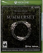 The Elder Scrolls Online: Summerset (Microsoft Xbox One, 2018) Brand New - $24.70
