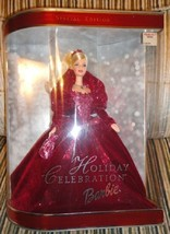 1 new holiday celebration barbie special edition 2002 - $16.00