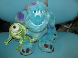 Mike and Sully Stuffed Plush Set Disneyland Disney Parks Monster Inc. Pixar - $16.99
