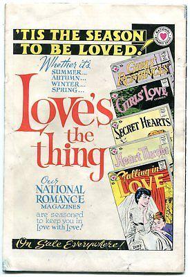 GIRLS' ROMANCES #67 1960- DC Silver Age Romance VG