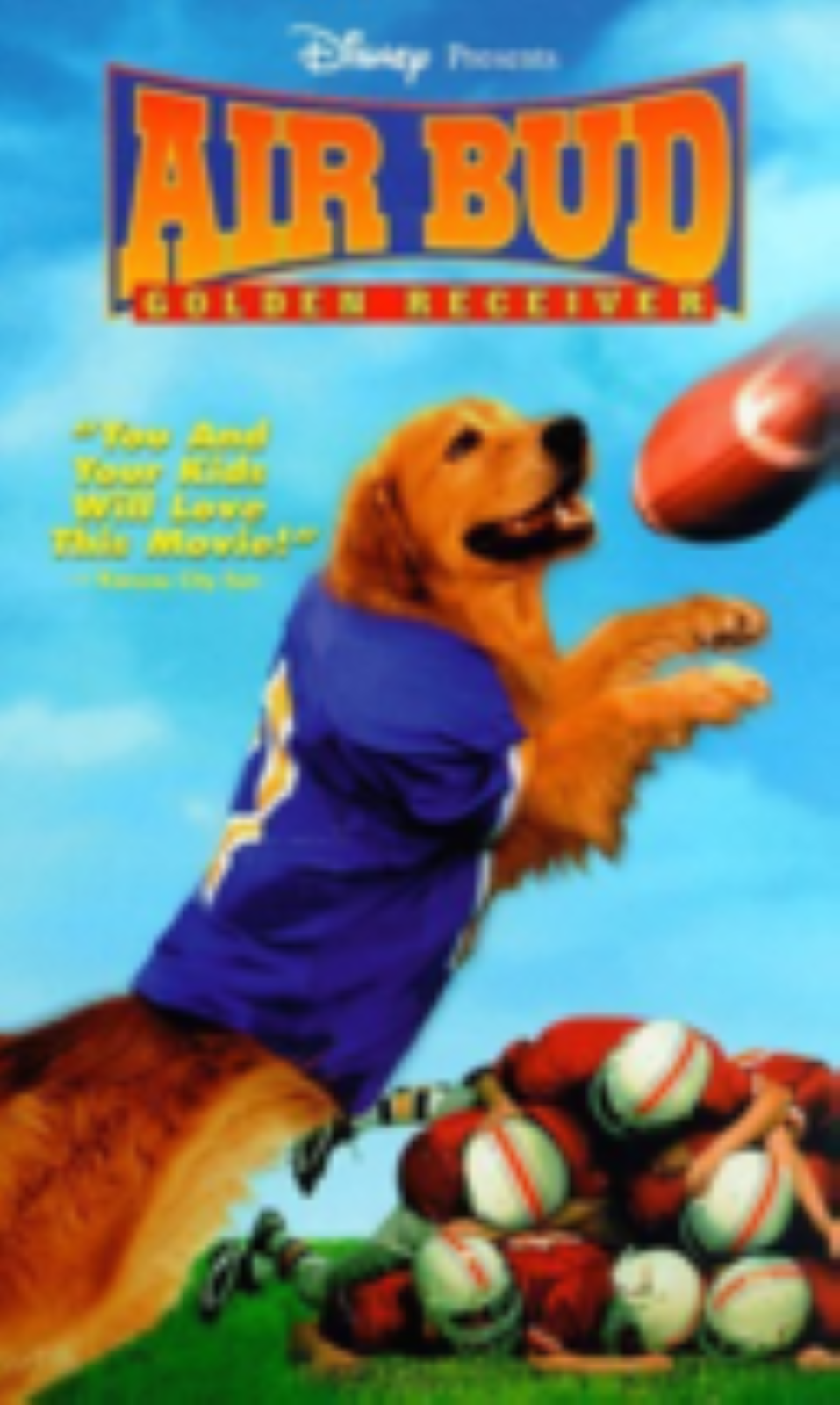 Air Bud - Golden Receiver Vhs