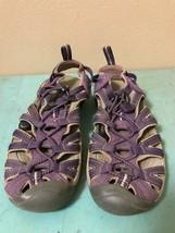 Keen Women's Whisper Purple Waterproof Sport Sandals Shoes size 8 - $37.72