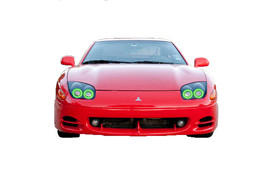 for Mitsubishi 3000GT 94-98 Green LED Halo kit for Headlights - $130.98