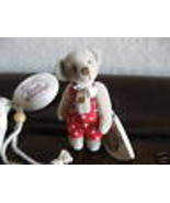 Ganz Cottage Collectibles Miniatures Bear ~ Terry ~ MWT COA and Storage Bag - $15.99