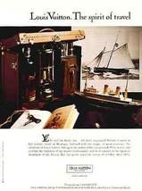 Louis Vuitton AD Spirit of Travel Clipper Ship Ocean Liner Whiskey Case 1993 Nau - $9.99