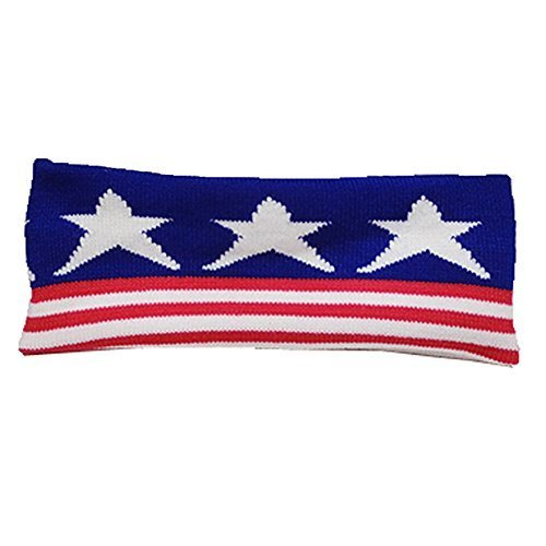 Knitting Headbands Wide Headband for Sports or Fashion, Star
