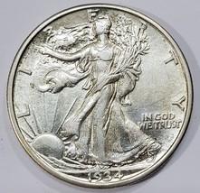 1934D Walking Liberty Half Dollar 90% Silver Coin Lot# MZ 4858
