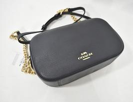 NWT Coach F29000 Isla Leather Crossbody/Shoulder Bag in Midnight. Dark Blue - $219.00