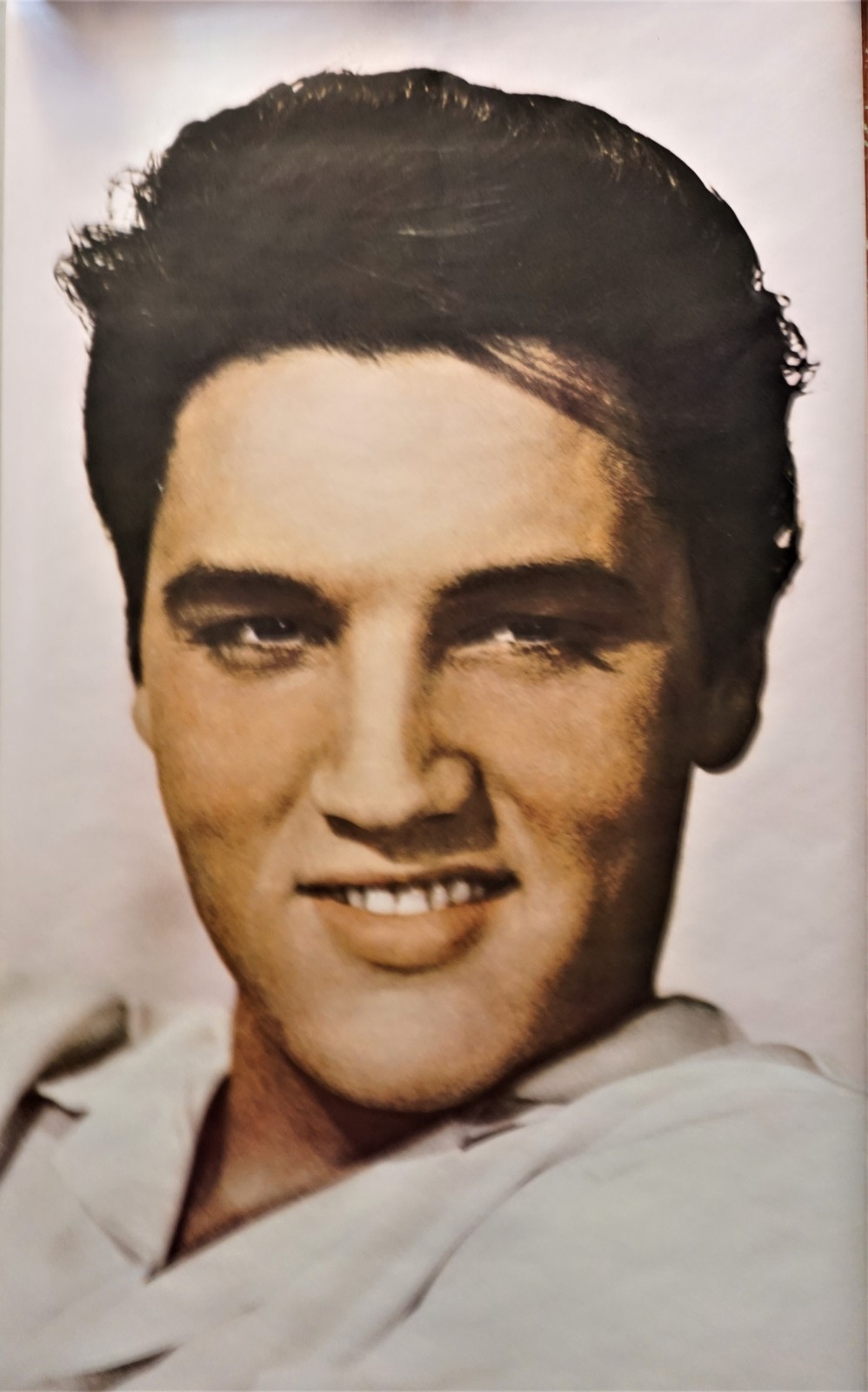 Primary image for Elvis Presley 1985 Door Size Pin Up Poster Color