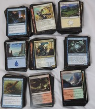 MTG Magic the Gathering 450+ cards Uncommons, Commons, Land Cards - $9.49