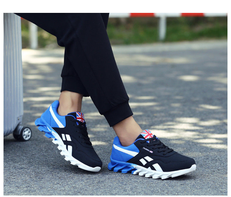 Men Casual Shoes Spring Autumn Breathable Fashion Shoes Lace-Up British Style
