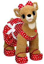 Build a Bear Clarice Reindeer Doe Polka Dot Dress Unstuffed Plush Toy (R... - $199.99