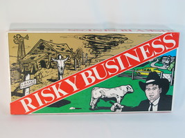 Risky Business Board Game 1986 Laycee Games 100% Complete Near Mint Cond... - $44.70